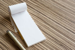 Writing pad Royalty Free Stock Images