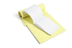 Writing Pads Royalty Free Stock Photography