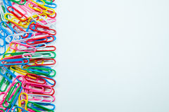 Free Writing Paper Clips Stock Image - 67036181