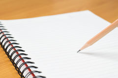 Writing on paper Stock Images