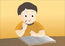 Writing pen. A illustration image for writing pen Royalty Free Stock Photography