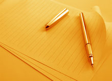 Writing Pen. Close up of Writing Pen Royalty Free Stock Photography