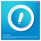 Writing pen icon. This Vector EPS 10 illustration is best for print media, web design, application design user interface and infographics with well composed royalty free illustration