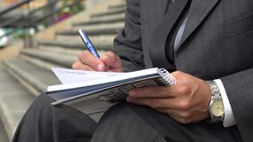 Writing, Pen, Pencil, Paper stock footage