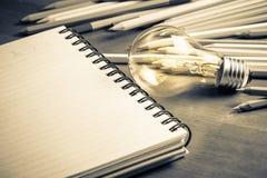 Writing pomysł Fotografia Stock