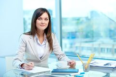 Writing proficiency test Stock Images