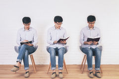 Writing and reading Stock Photos