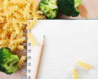 Writing a Recipe Stock Photos