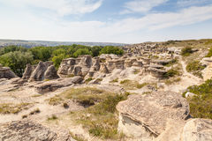 Writing-on-Stone Provincial Park in Alberta, Canada Royalty Free Stock Photography