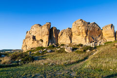 Writing-on-Stone Provincial Park in Alberta, Canada Royalty Free Stock Images