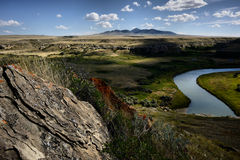 Writing On Stone Provincial Park Royalty Free Stock Photography