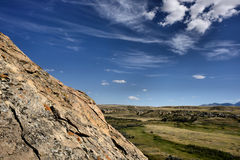 Writing-On-Stone Provincial Park Stock Image