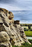 Writing-On-Stone Provincial Park Royalty Free Stock Photos