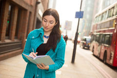 Writing in the street Stock Images