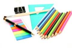 Writing subjects Stock Photo