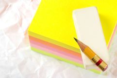 The writing subjects Royalty Free Stock Images