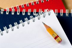 The writing subjects Royalty Free Stock Image