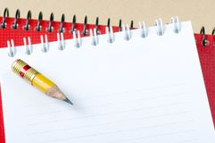 The writing subjects Royalty Free Stock Photos