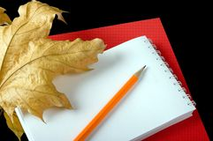 The writing subjects Stock Photography