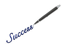 Writing success Stock Images
