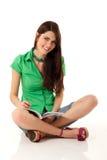 Writing teenager girl Royalty Free Stock Photography