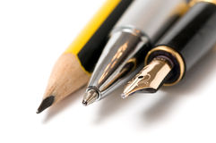 Writing tools Stock Photography