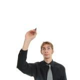 Writing Up Above Stock Photo