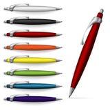 Writing utensils. Royalty Free Stock Photos