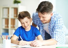Writing words Royalty Free Stock Photo