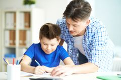 Writing words Stock Photography