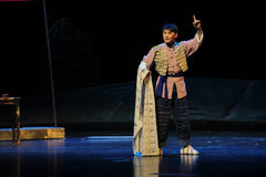 Written complaint- Jiangxi opera a steelyard Stock Photos