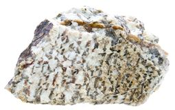 Written granite Royalty Free Stock Images