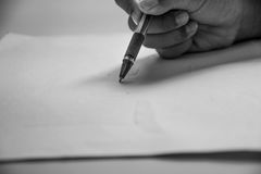 Written memories of the past Royalty Free Stock Photography