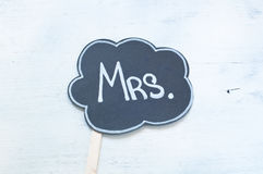 Written nice usable during the holidays:mrs Stock Photos