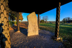 Written in stone by Vikings Stock Photography