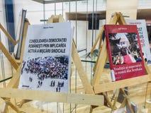 Writters romenos dos políticos na prisão Imagem de Stock