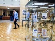 Writters rumanos de los políticos en la prisión Imagen de archivo