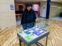 Writters rumanos de los políticos en la prisión Imágenes de archivo libres de regalías