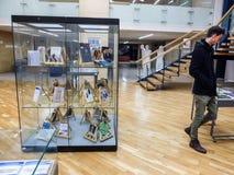 Writters rumeni dei politici in prigione Fotografia Stock Libera da Diritti