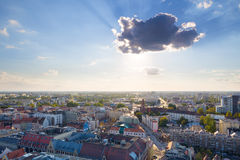 Wroc�aw Old Town Royalty Free Stock Photos