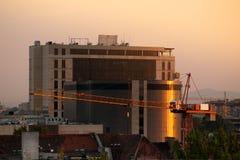 Wrocławska, nowożytna architektura, zdjęcie stock