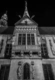Wrocławski, Polska 21st 2016 Październik Fasada stary urząd miasta ja Obraz Royalty Free