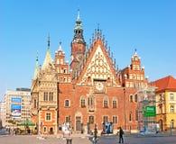 Wrocławski urząd miasta Obraz Stock