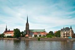 Wrocławska katedra Obrazy Royalty Free