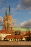 Wrocławski katedralny Silesia Obraz Royalty Free