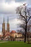 Wrocławski katedralny Silesia Obrazy Royalty Free