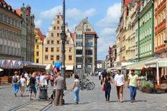 Wrocławski Rynek Zdjęcie Royalty Free