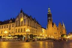 Wrocław main Market Square Royalty Free Stock Photo