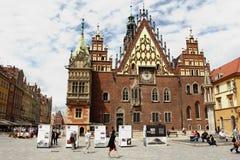 Wrocław - ratusz Royalty Free Stock Images