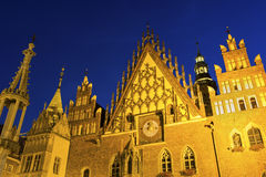 Wrocław Town Hall Royalty Free Stock Photography